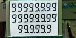 Custom 886 776 Tankstellen LCD-Display mit BL-Leiterplatte