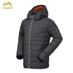 Melhor Venda Cutomized do homem casaco de inverno casaco acolchoado para homens com repelente de água