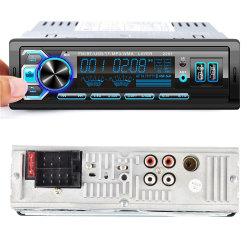 Nuovo modello Automobile Audio FM radio lettore MP3 per auto Lettore auto multicolore con Bluetooth
