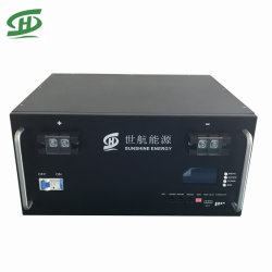 بطارية ليثيوم أيون بوورال بقوة 48V 100ah 200ah 4.8kw 9.6kw LFPO4 لنظام تخزين الطاقة الشمسية الكهروضوئية برج الاتصالات المزود بـ Anti السرقة وGPS