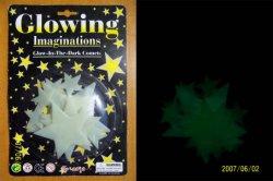 Reservar Plástico Toys-Glow plástico incandescente & Moon (X08)