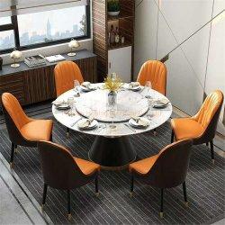 Современные металлические рок верхней балки гостиной дома квартира ресторан дома 6 стульев обеденный стол