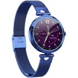 최신 Lady Fashion Luxury A22 Smart Watch for Women Smartwatch 터치 스크린 다이아몬드
