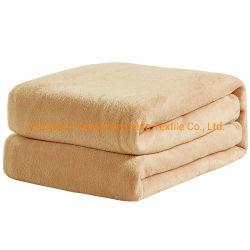 Manta polar 350GSM - Premium antiestático ligero lanzar para la cama caliente tejido cepillo extra suave sofá manta térmica