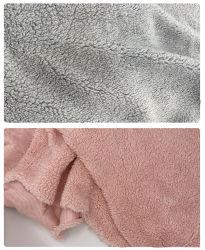 Montón de terciopelo de algodón de lujo profunda Colcha arrojar mantas