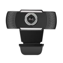 1080P USB Webcam con micrófono para el streaming de vídeo, conferencias, clases en línea