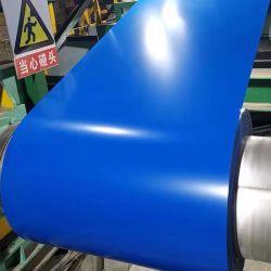 PPGL pré-peint de couleur d'acier galvanisé recouvert de bâches en carton ondulé en métal de la bobine