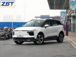 英語版高速充電高速モータ Aiways U5 EV オートマチックパーキング付の 4x2 インテリジェントラグジュアリー SUV ピュアエレクトリックカー