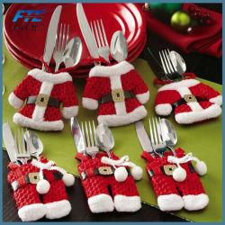 Sankt-Tafelsilber-Halter-Weihnachtsdekoration-Abendessen-Weihnachtsverzierung