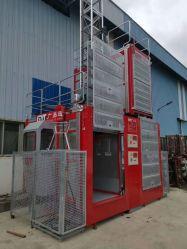 Transporte seguro com marcação construção elevador com equipamento de elevação do guindaste pessoais galvanizado 2020