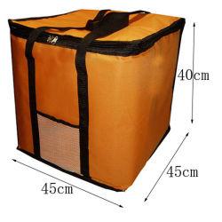 14-дюймовый складные большие температурные пицца-Bag толстый мешок охладителя изолированный пицца мешок для хранения свежей контейнера для доставки продовольствия 45X45X40см