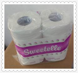 Houtpulp van de Verkoop van de Prijs van de Fabriek van de Fabrikant van het Toiletpapier van het toiletpapier de Gehele Zachte en Sterke Gerecycleerde