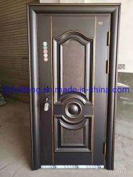 Commerce de gros avant de la chambre extérieure de porte à porte en acier bon marché de conception de la sécurité