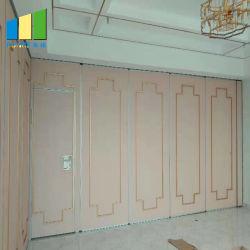 Holz Falten bewegliche Trennwände für Bankett / Restaurant / Kirche