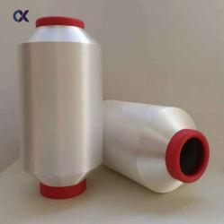 Rauw Wit Zwart 100% Polyester Nylon Hot Melt Yarn