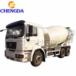 Sinotruk Shacman HOWO 9 metros cúbicos de mezcla de concreto Camión Mezclador de