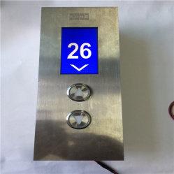 Otis Kone Schindler Hitachi Тиссен индивидуальные 4.3 дюйма поднимите элеватор пола ЖК TFT дисплеем с программируемым логическим контроллером