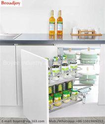 Küche ziehen Edelstahl-multi Zweck-Gewürz-Fach-Korb aus