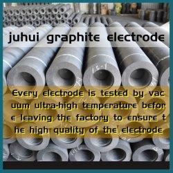 UHP Cadinho de grafite de eléctrodos de grafite usada no forno de calor minerais