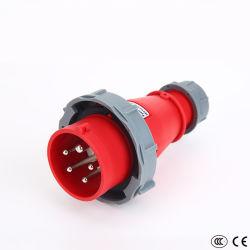 Spina industriale industriale della spina/Cee di /IP67 dello zoccolo della spina del nuovo PC di disegno per uso del guardiamarina (16A, 32A, 110V-130V, 2P+E)