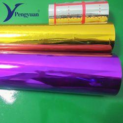 Film métallisé pour l'emballage, la plastification, la lamination en mousse