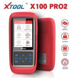 Xtool X100 PRO2 Auto ключ программирования страниц с помощью переходника Eeprom пробег, регулировка