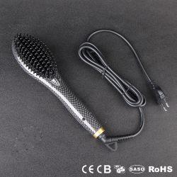 熱い販売の安い価格新しいセラミック電気速いコームのブラシ ヘアストレートヘアアイロン