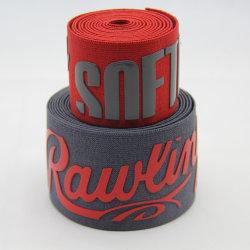 Tessitura elastica tessuta jacquard largo caldo della stampa di stile del silicone del poliestere