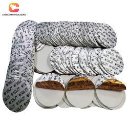 PE Láminas de Aluminio de inducción de la junta de la camisa del vaso