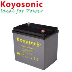 6V 225Ah à cycle profond pour l'énergie solaire énergie solaire de la batterie pile sèche avec garantie de 5 ans
