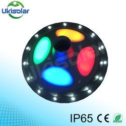 Bon marché tout en un Éclairage extérieur LED solaire intégré pour le jardin de style de la lampe de la rue UFO