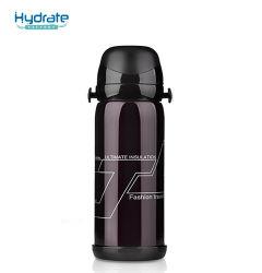 Voyage le sport à double paroi en acier inoxydable avec bouteille d'eau de couverture de change