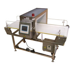 O detector de metal do transportador para a indústria de detecção de alimentos