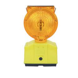 La seguridad vial Solar LED parpadeante luz de advertencia para el Cono de tráfico