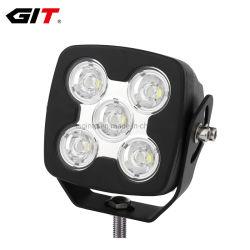 Квадратные 12V/24V 50W 5дюйм кри направленного/заливающего светодиодный фонарь рабочего освещения для погрузчика на тракторе Car Auto Agricutlure (GT1025-50W)
