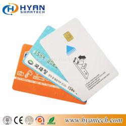 Personnaliser préimprimé5542 5528 Els puce avec contact Smart Carte PVC