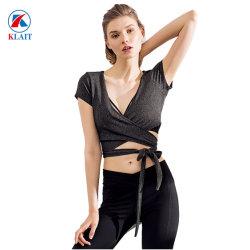 طبعة علامة تجاريّة رياضيّة لباس نساء عالة [برثبل] رياضات صديرية لياقة نظام يوغا مجموعة