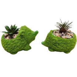 Animaux Plantes Mole floqué Pot en céramique