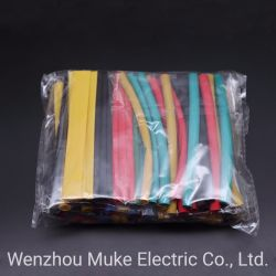 Tubo termoencolhível de manga para iPad iPhone 5 6 7 8 Dados USB Cabo do Carregador Fix preto/vermelho/amarelo/verde/azul/branco/Apagar