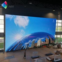 Taux de rafraîchissement élevé haute luminosité petit pixel couleur à l'intérieur mur vidéo LED 480*480mm LED P2.5 a ffichage