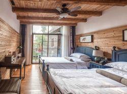 Mobilie americana della camera da letto dell'appartamento base di legno solido 1.8m/di 1.5m doppia