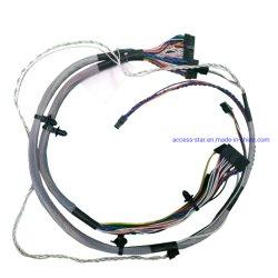 UL кабель 24 AWG Molex 10контакт разъема жгута проводов наклона 2,5 мм
