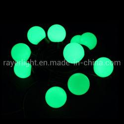 Kerstmis steekt Synchro RGB LEIDEN van de Lichten van het Koord Koord met het Ornament van de Bal aan