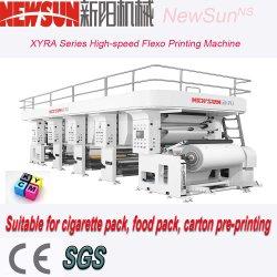 آلة طباعة Flexo لورق PVC Alu Broufle BOPP PE غير منسوجة