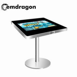 証明書 LCD デジタルサイネージ用の SaleDigital 広告ボード用のバーテーブルスタイル広告プレーヤー 21.5 インチ屋内キオスク小売キオスク