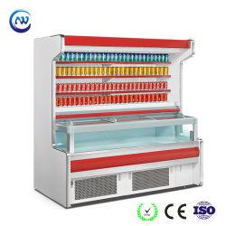 Temperatura dupla-Frio Deli bebida alimentar do refrigerador do Mostrador vitrina frigorífico para supermercado (HB-15Q)