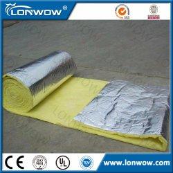 Prix de panneau de laines de verre d'isolation de papier d'aluminium de qualité