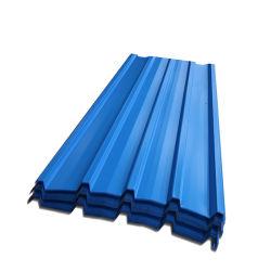 28 مقياس لون ورقة السقف المطلية مسبقًا المطلية مسبقًا بألواح الفولاذ المطلية بألواح الورق المجلفنة