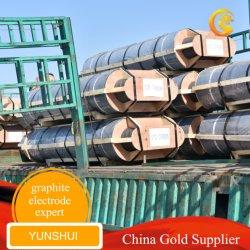 UHP 흑연 전극 탄소 실리콘 알루미늄 강철 용융 제련 금속,