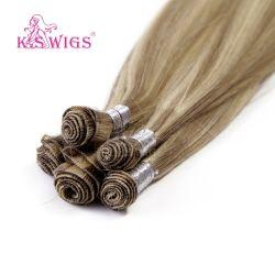 Estensione indiana dei capelli di Remy del Virgin naturale dei capelli del legame della mano
